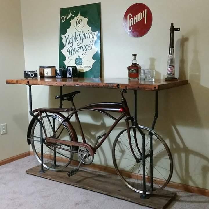 Bike Pub Table