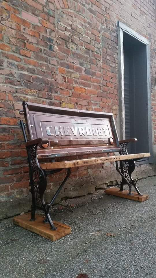 Chevy Tailgate Bench - 3