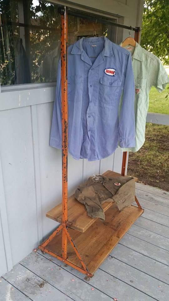 Loft Clothes Rack