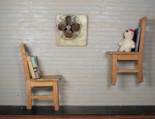 Children's Chair Wall Shelves
