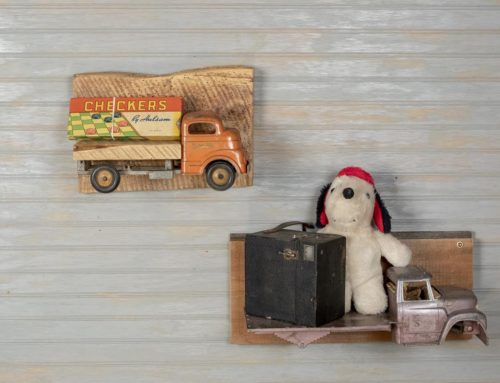 Toy Truck Wall Shelves