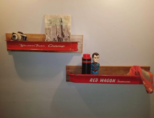 Wagon Wall Shelves