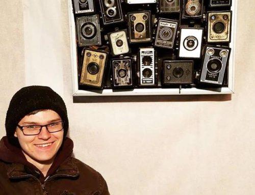 Camera Collage Art
