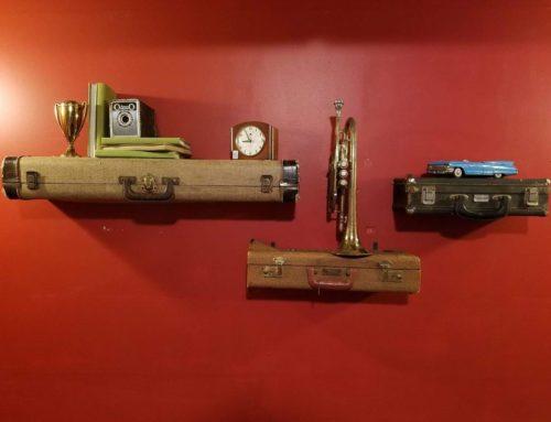 Instrument Case Wall Shelves