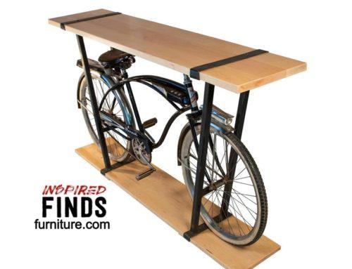 Retro Contemporary Bike Table