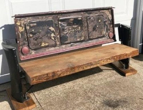 Thick Ford Tailgate Bench