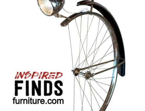 Articulating Bike Wheel Desk Lamp