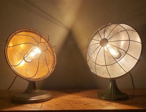 Repurposed Antique Heater