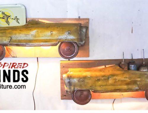 Profile Pedal Car Sconce Lamps