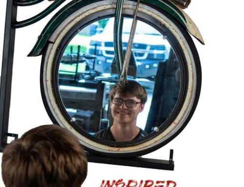 Schwinn Bicycle Wall Mirror